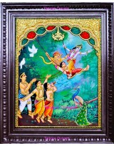 Flying Krishna
